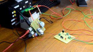Prueba de diseño del sensor de hielo
