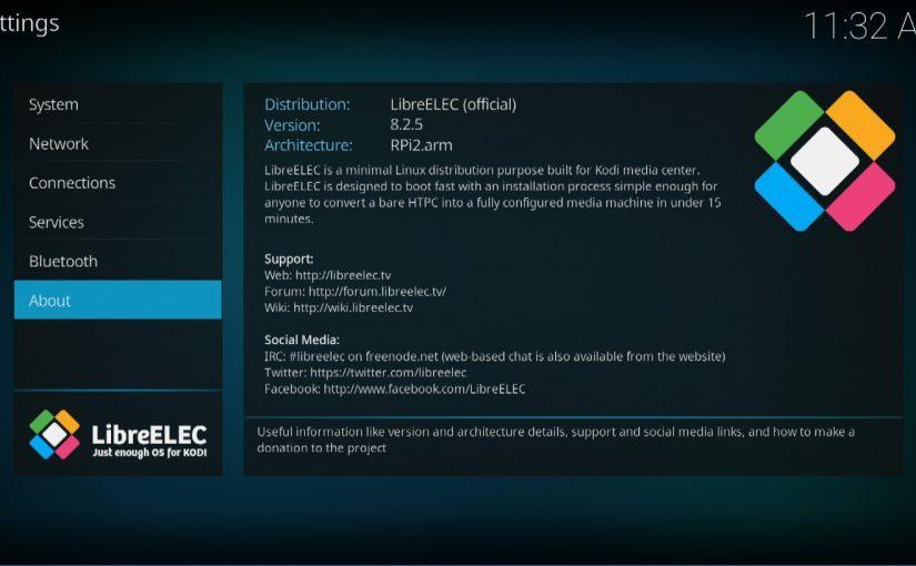 Lanzada la versión 8.2.5 de LibreELEC