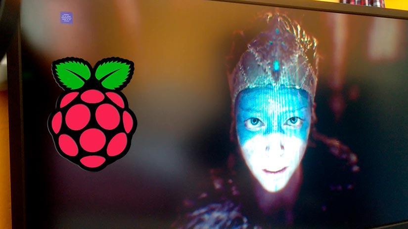 Parsec moviendo el videojuego Hellblade - Senua's sacrifice en una Raspberry Pi