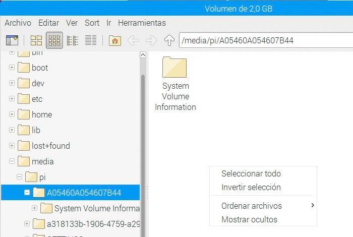 USB NTFS sin permisos de escritura