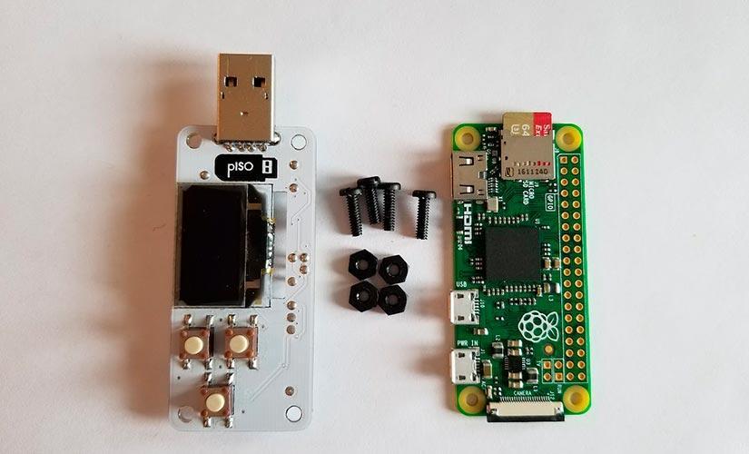 pISO con una Raspberry Pi Zero