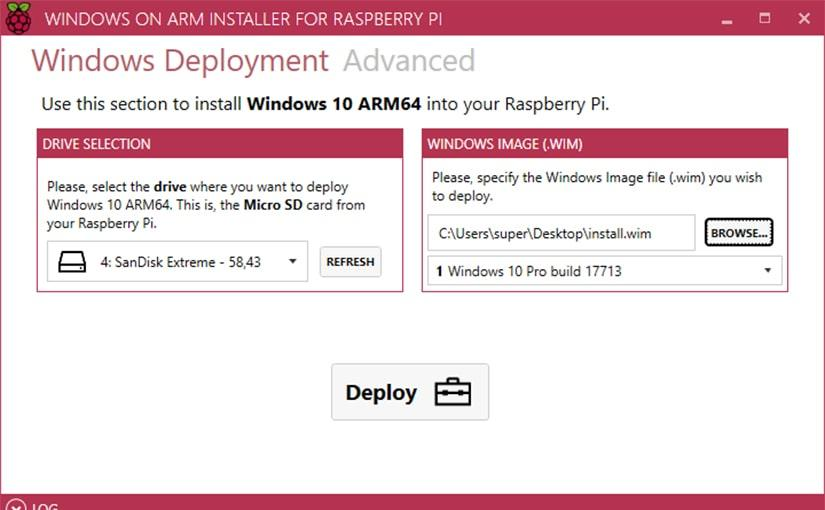 WoA installer, instalar Windows 10 ARM en Raspberry Pi nunca ha sido tan fácil