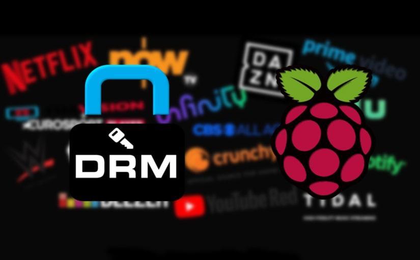 Como ver contenido con DRM en el navegador en una Raspberry Pi