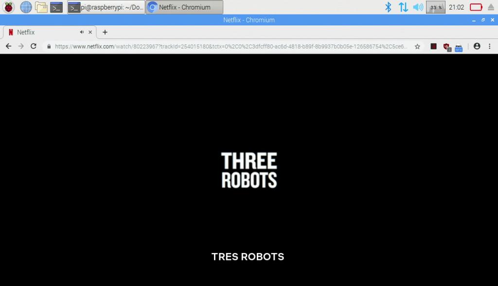 Como ver contenido con DRM en el navegador en una Raspberry
