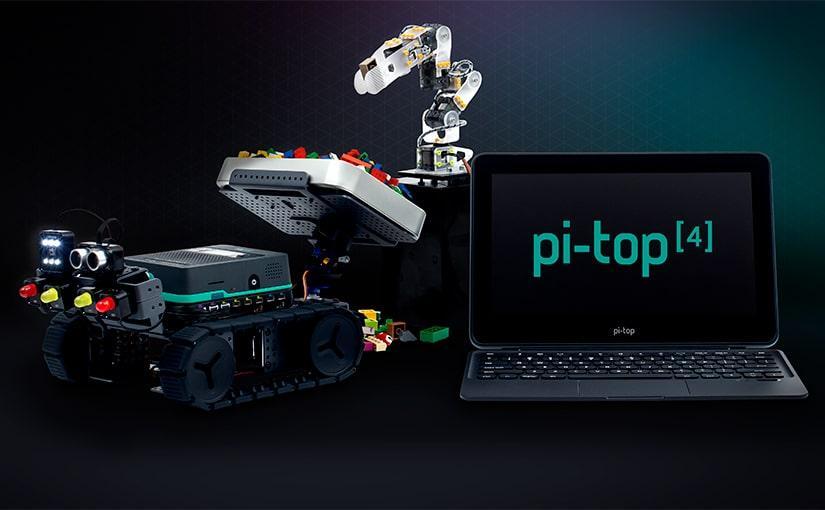 pi-top [4] es el kit que no sabías que querías para tu Raspberry Pi 4