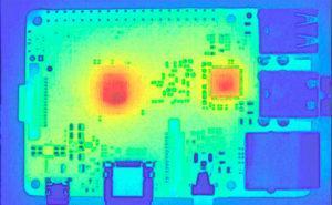 Medición de la Temperatura de una Raspberry Pi 3B