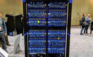 Fotografía del superordenador de Oracle