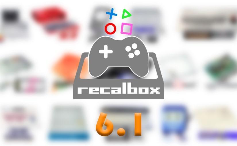 Recalbox 6.1 llega con un montón de novedades a Raspberry Pi