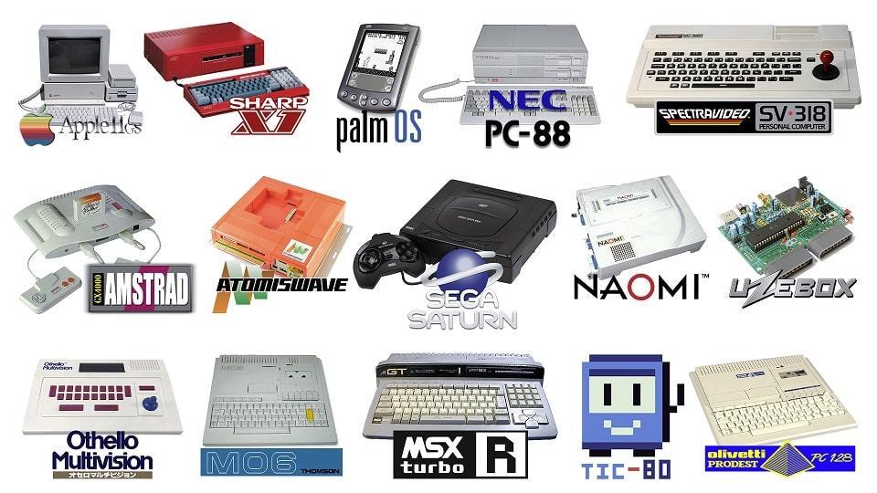 Nuevos sistemas operativos de Recalbox 6.1
