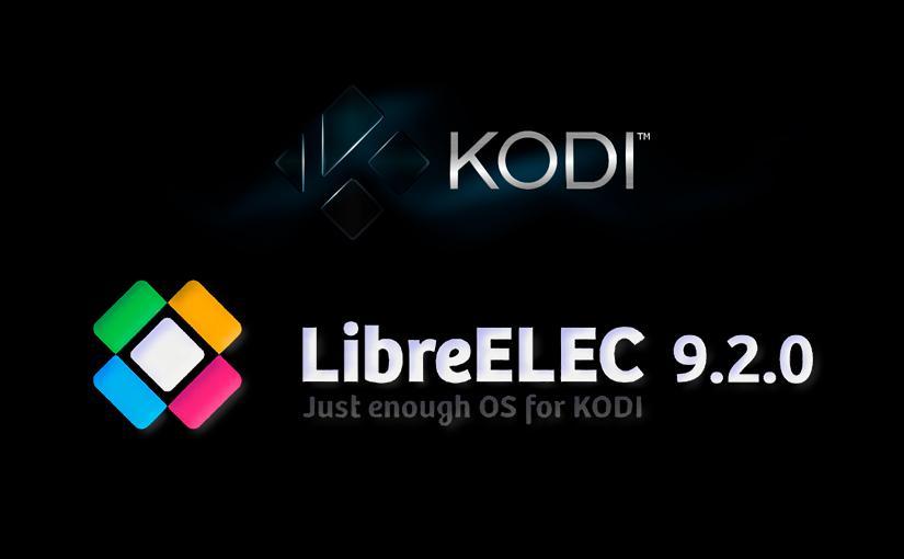 Logos de Kodi y LibreELEC