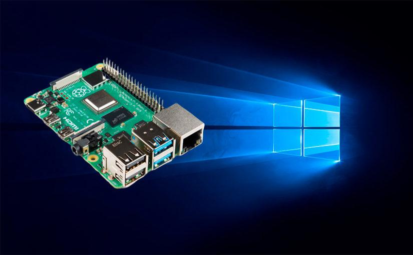 Consiguen usar Windows 10 ARM en Raspberry Pi 4