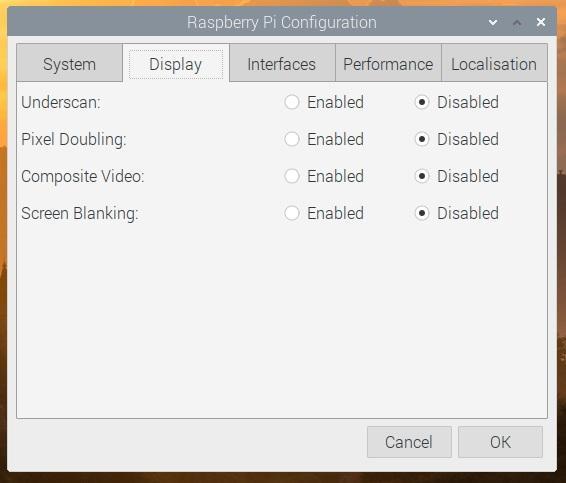 Nuevo configurador de Raspberry Pi
