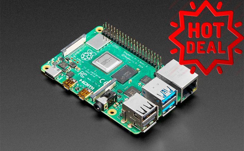 Baja 10€ el precio de la Raspberry Pi 4 con 2GB de RAM