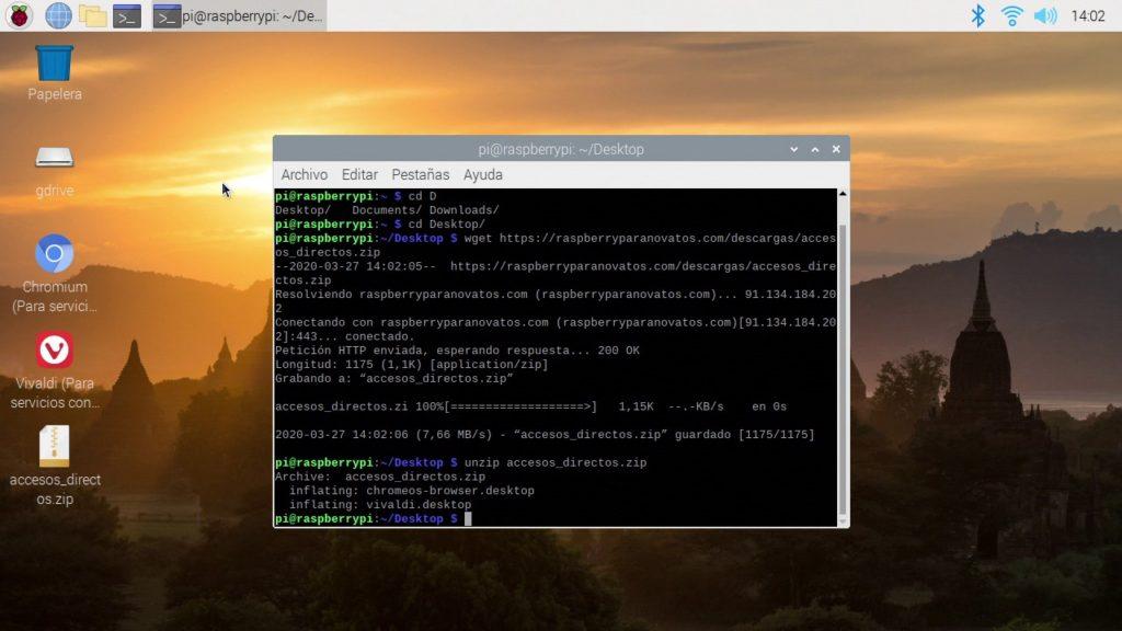 Accesos directos a los navegadores con el indentificador cambiado