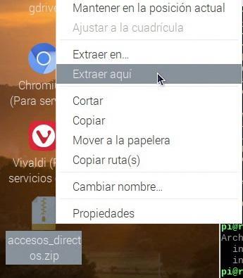 Extrayendo los accesos directos de los navegadores desde el escritorio