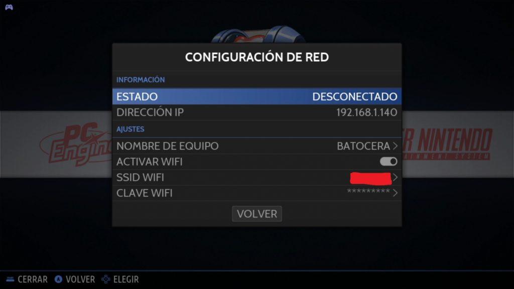 Problemas con la WiF en Batocera 5.26
