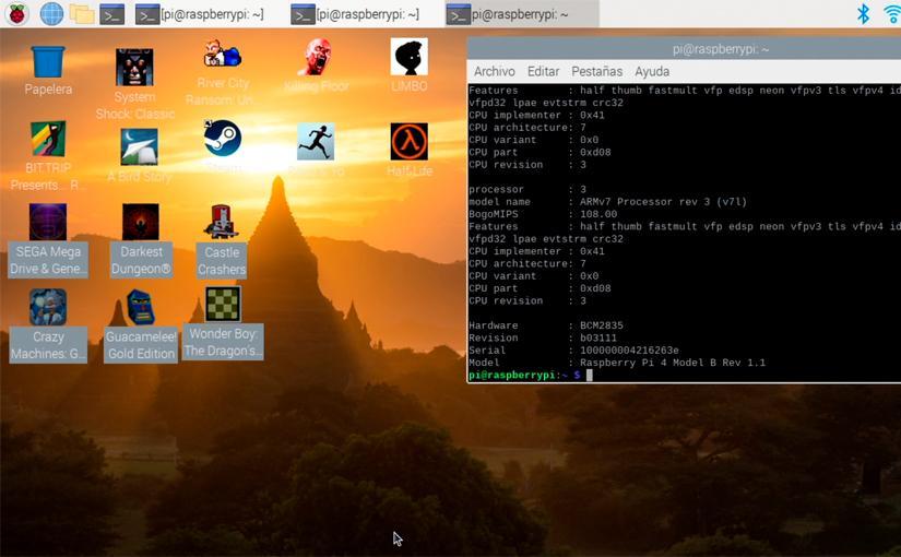 Box86 te permite ejecutar Steam y juegos X86 en Raspberry Pi