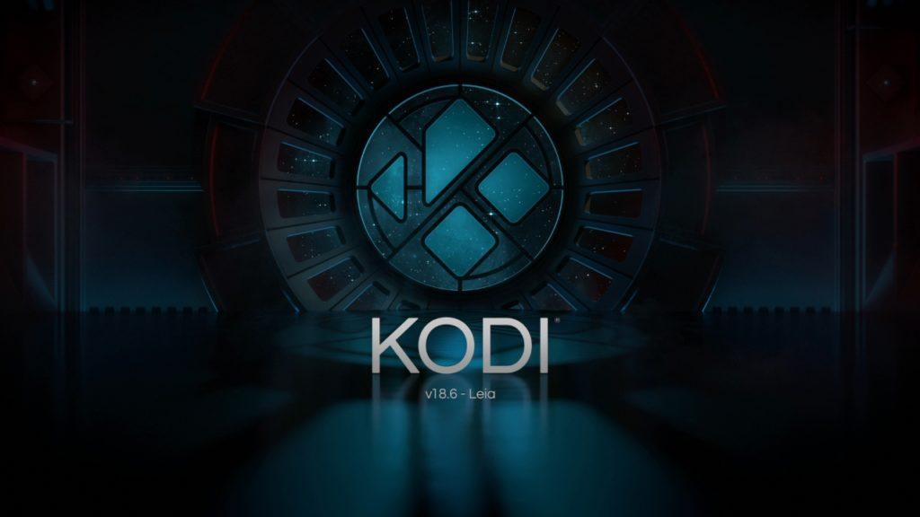 Kodi 18.6 ejecutandose en Raspbian en una Raspberry Pi