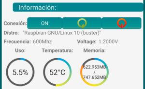 Monitorizando una Raspberry Pi con RaspManager
