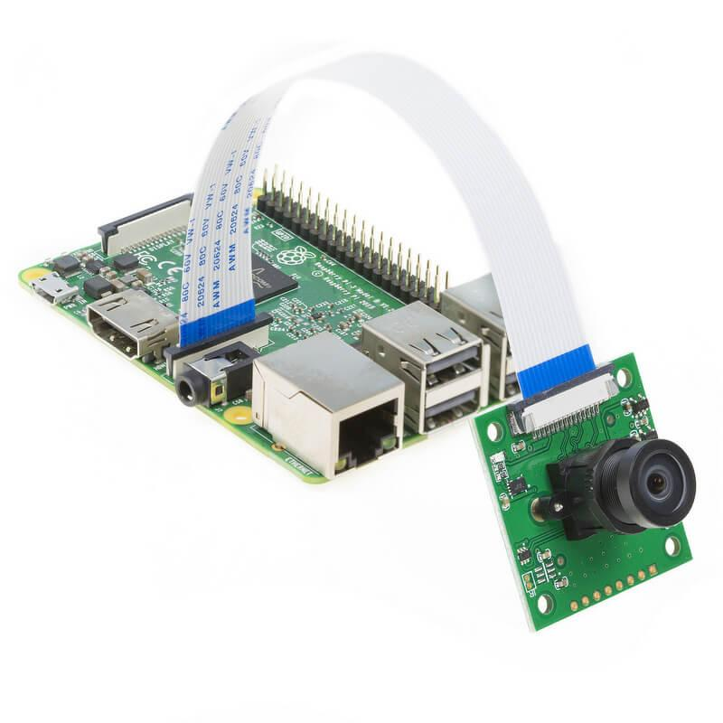 Raspberry Pi con una Raspberry Pi camera V2