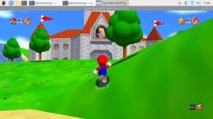 Super Mario 64 funcionando en una Raspberry Pi 3B+ de forma nativa