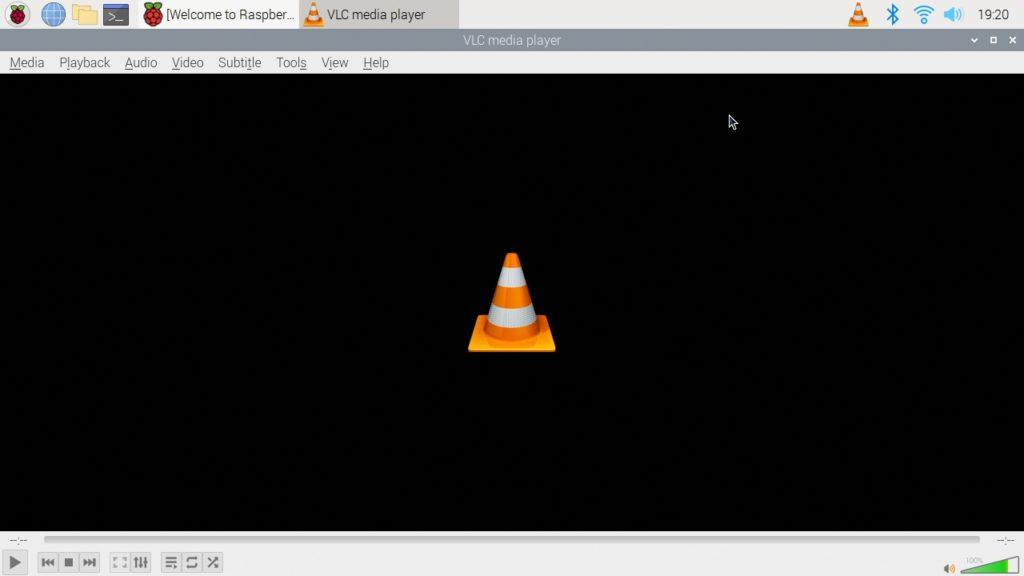 VLC funcionando en una Raspberry Pi