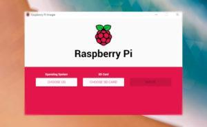 Grabando una imagen con Raspberry Pi Imager