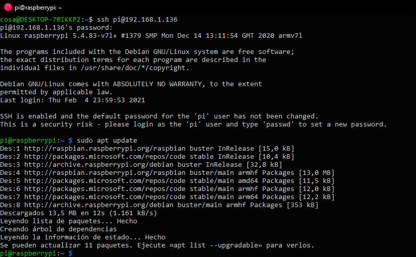 Aparecen repositorios de Microsoft en Raspberry Pi OS